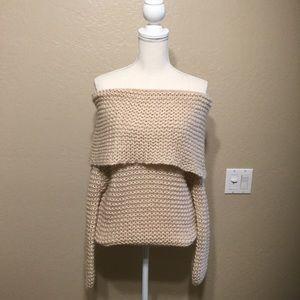 Forever 21 Off Shoulder Sweater